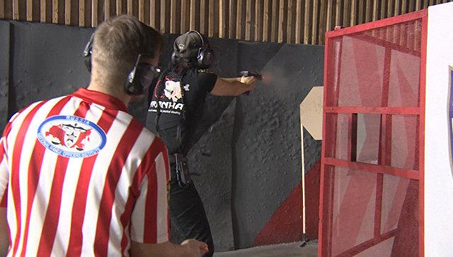 Стрельба по мишеням и отлетающие гильзы – матч Kalashnikov Cup в Подмосковье