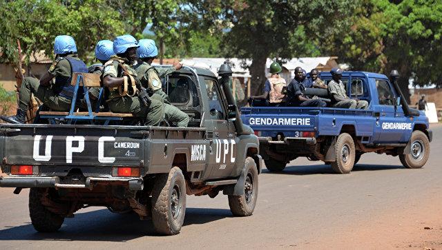 Военнослужащие миротворческой миссии ООН в Центральноафриканской Республике. Архивное фото