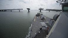 Эсминец ВМС США USS Carney