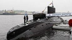 Передача ВМФ РФ дизель-электрической подводной лодки Великий Новгород. 25 октября 2016