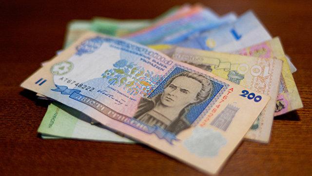 Гривны - национальная валюта Украины. Архивное фото