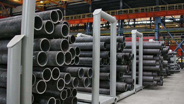 Центр по производству труб для нефтяной отрасли. Архив