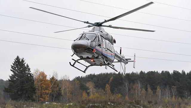 Презентация вертолета Ансат. Архивное фото