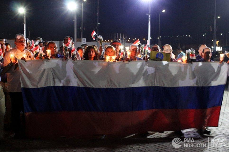 ВЕгипте пройдет панихида пожертвам крушения русского Airbus A321 над Синаем