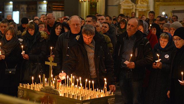 Подсветку Дворцовой площади отключат впамять ожертвах авиакатастрофы над Синаем