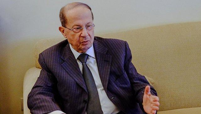 Президент Ливана попросил помощи в решении проблемы сирийских беженцев