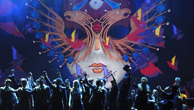 Выступления артистов на юбилейном вечере Российской национальной театральной премии и Фестиваля Золотая Маска. Архивное фото