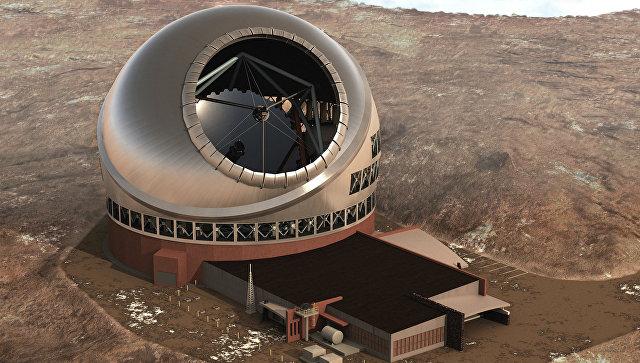 Крупнейший вмире телескоп из-за протестов могут перенести наКанары
