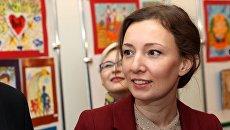 Уполномоченный при президенте РФ по правам ребенка Анна Кузнецова. Архивное фото