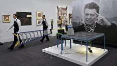 Предаукционная выставка вещей Дэвида Боуи в Лондоне