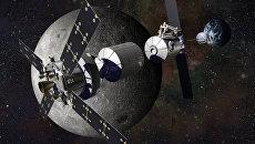 Лунная база в представлении инженеров и художников компании Локхид-Мартин. Архивное фото