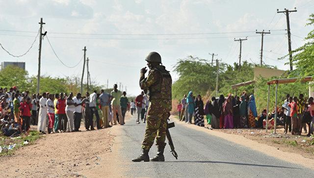 Солдат сил самообороны Кении. Архивное фото