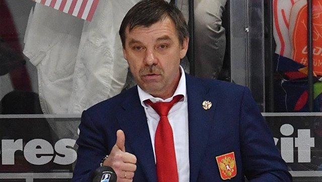 Главный тренер сборной России Олег Знарок. Архивное фото