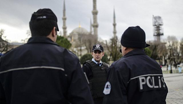 Сотрудники полиции Турции. Архивное фото