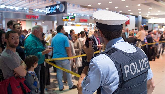 В Германии самолет эвакуировали из-за «подозрительного разговора»