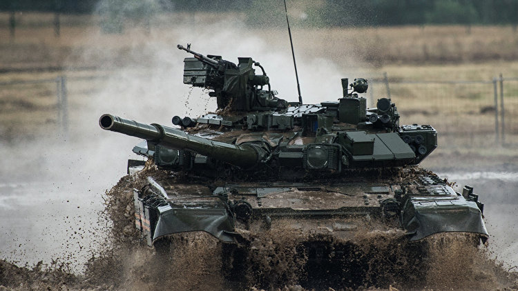 Журнал Stern удивился бронестойкости русского Т-90