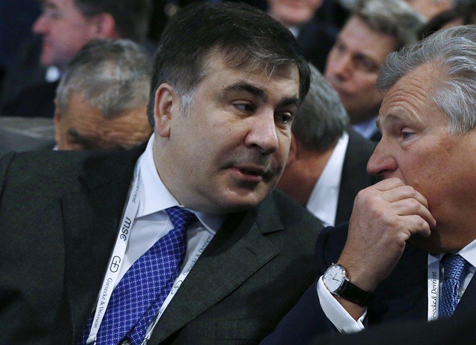 Украинское руководство неполучало объявление оботставке Саакашвили