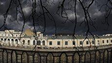 Вид с набережной реки Фонтанки на Санкт-Петербургскую государственную художественно-промышленную академию имени А.Л. Штиглица