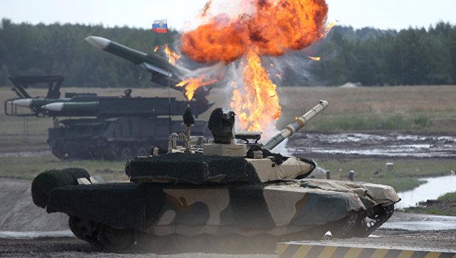 Танк Т-90 МС. Архивное фото