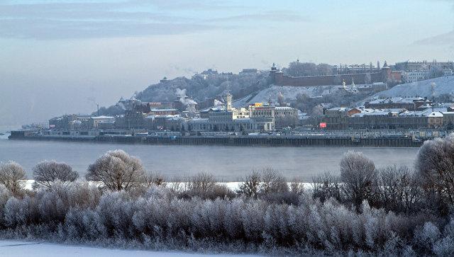 ВНижегородской области наОке два рыбака провалились под лед