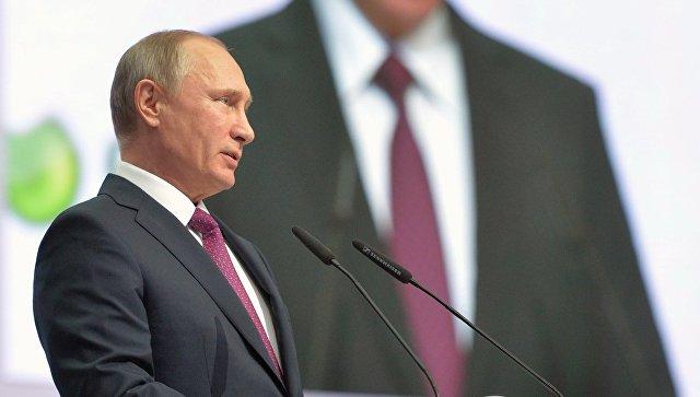 Путин: Цифровизация жизни требует надежной защиты