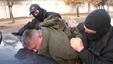Сотрудники ФСБ задержали в Крыму украинских диверсантов. Кадры операции
