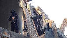 Боевик террористической группировки Джебхат ан-Нусра* в Сирии. Архивное фото