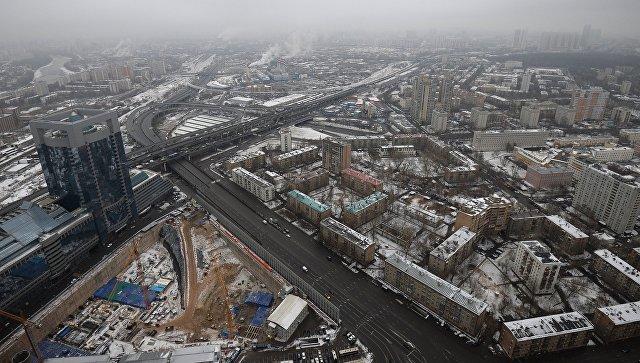 Виды Москвы с высоты. Архивное фото