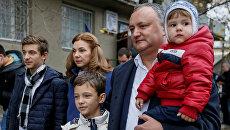 Кандидат в президенты Молдавии от социалистов Игорь Додон. Архивное фото