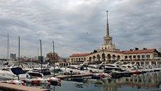 Морской порт Сочи. Архивное фото