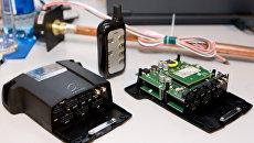 Телематический терминал, использующий сигналы ГЛОНАСС и GPSВ. Архивное фото