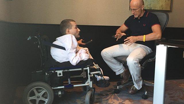 Валерий Спиридонов и доктор Серджио Канаверо