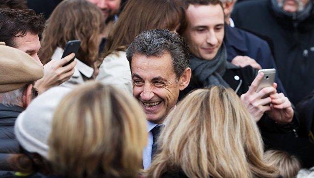 Саркози объявил оподдержке Макрона напрезидентских выборах Франции