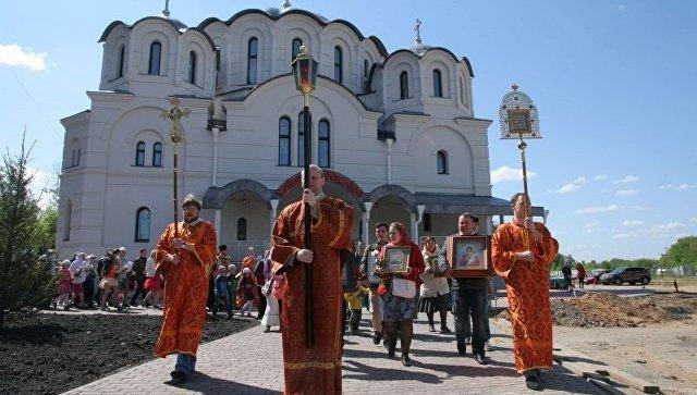 Храм в честь иконы Божией Матери Воспитание в Некрасовке