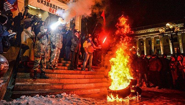 """Freitag: Европа проигнорировала """"дикости"""" украинского майдана"""