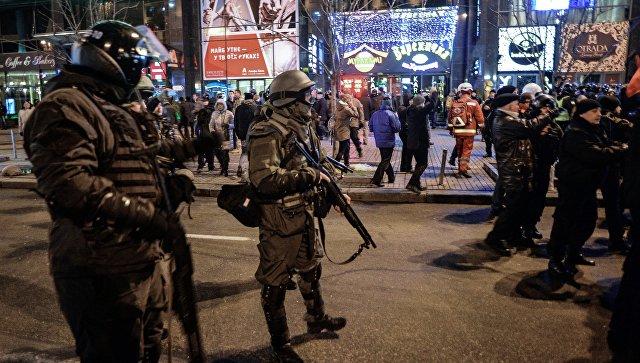 ВКиеве ночью снова подожгли офис «Интера», пострадавших нет