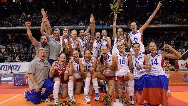 Волейболистки сборной России. Архивное фото