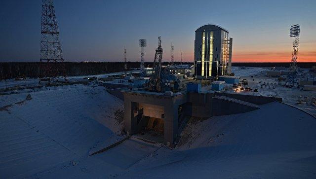 Космодром Восточный в Амурской области. Архивное фото