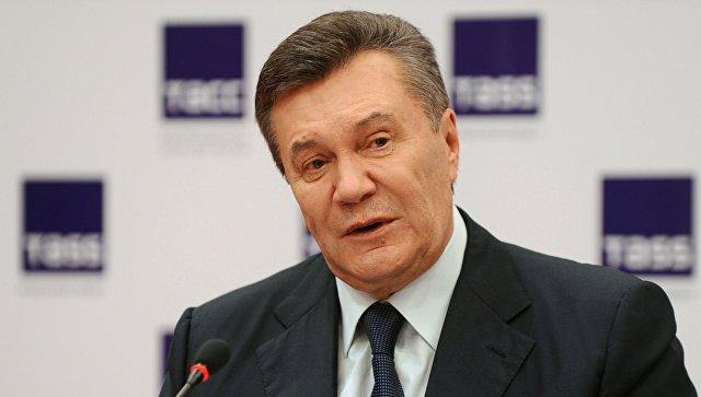 Янукович: территорию Украины пробуют использовать для давления на Российскую Федерацию