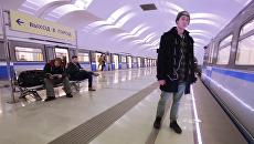 Московское метро участвует в Mannequin Challenge
