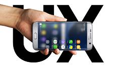 Смартфон Samsung Galaxy S7 edge. Архивное фото