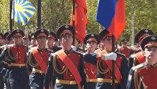 Почетному караулу Вооруженных сил России - 60 лет. Видео Минобороны РФ