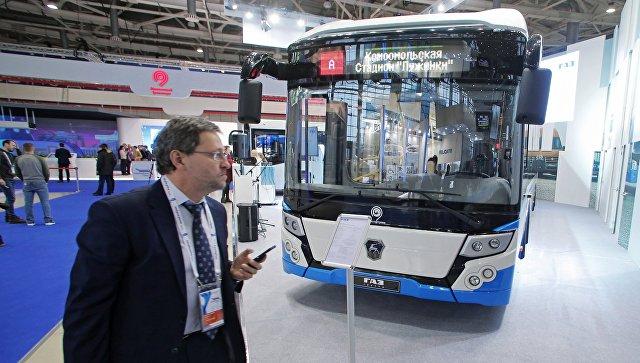 Зимой в российской столице появятся первые электроавтобусы
