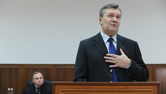 Защита Януковича добивается, чтобы его показания заслушали в Киеве