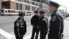Сотрудники американской полиции. Архивное фото