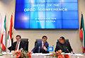 Председатель конференции ОПЕК, министр энергетики Катара Мухаммед бен Салех ас-Сада на официальной встрече ОПЕК в Вене