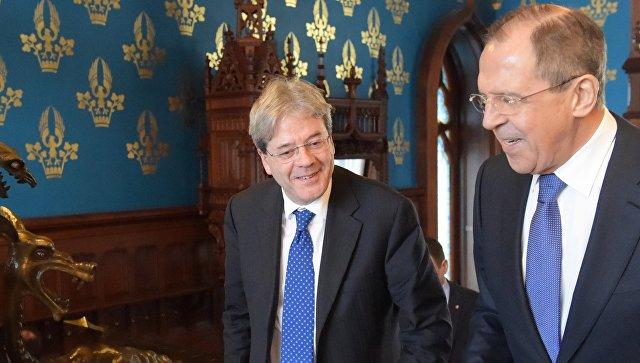Лавров поведал о воздействии санкций наотношения Российской Федерации иИталии