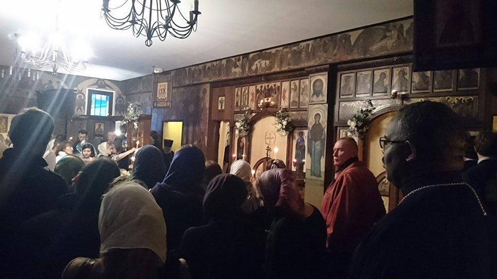 Патриарх Кирилл возглавил богослужение в монастыре встолице франции