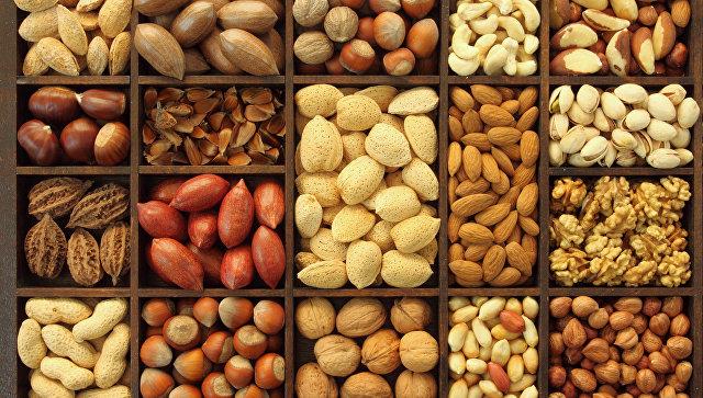 Орехи. Архивное фото