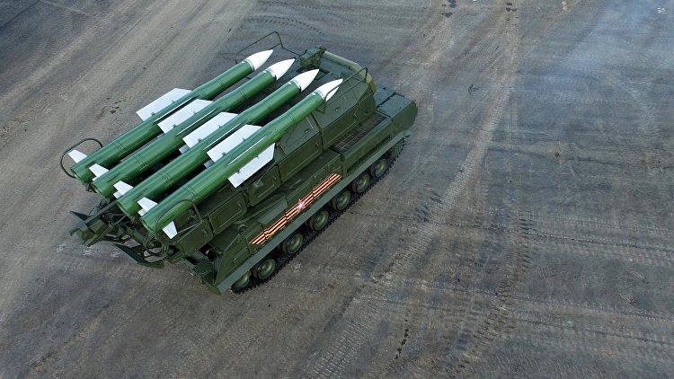 Бригада зенитчиков скомплексами «Бук-М2» начала дежурство вКраснодарском крае
